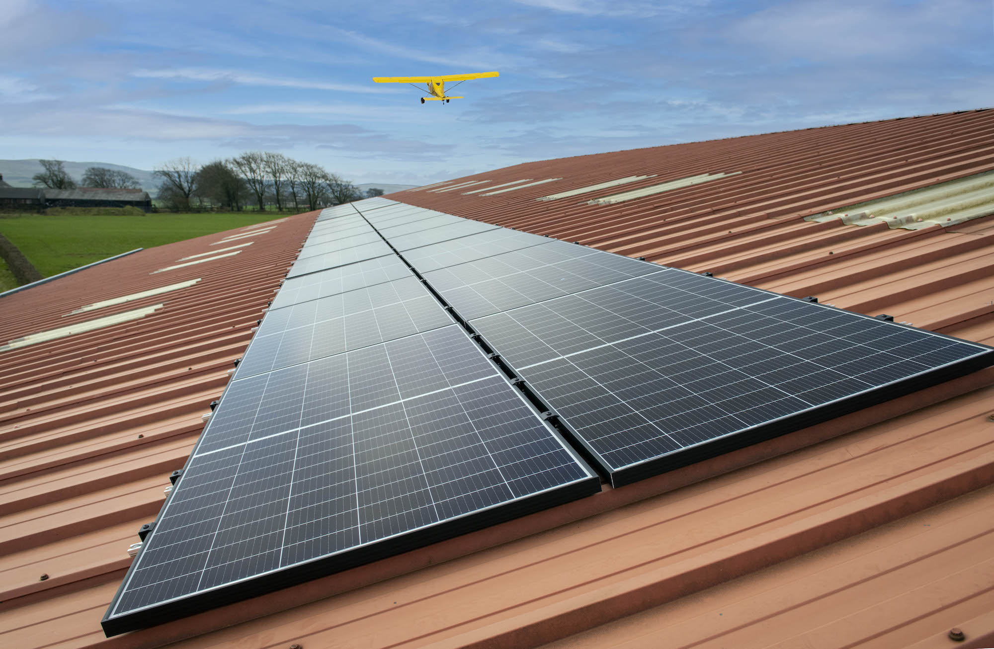 Strathaven Airfield solar energy