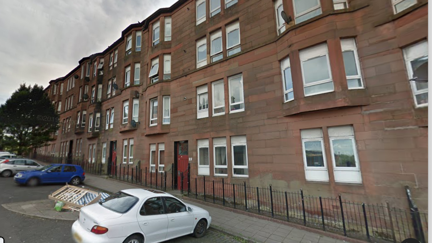 Gadshill Terrace, Roystonhill, Glasgow, tenement refurbishment